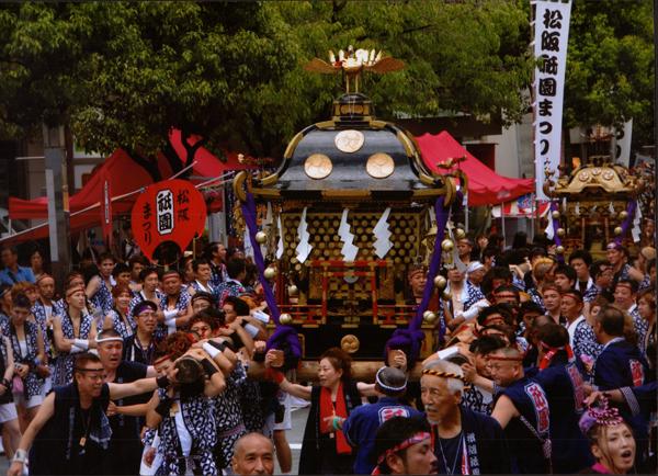 チョウサヤ 松阪神社のみこし