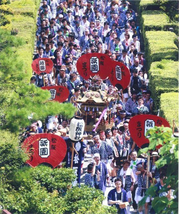 祭りの大群